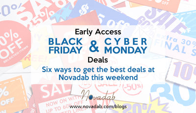 Early Access: Black Friday and Cyber Monday Deals - Six ways to get the best deals at Novadab this weekend
