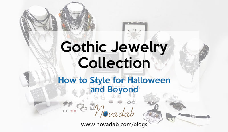 Gothic Jewelry Collection - How to Style for Halloween and Beyond