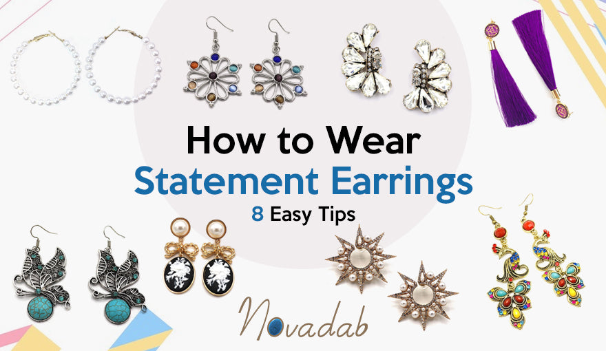 How to Wear Statement Earrings