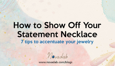 How to Show Off Your Statement Necklace