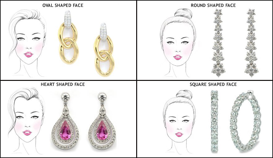 How To Choose The Perfect Earrings For Your Face Type