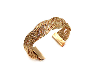 Double Woven Metallic Cuff Sales