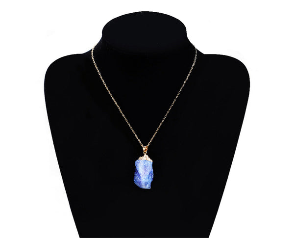 Healing Crystal Stone Pendant