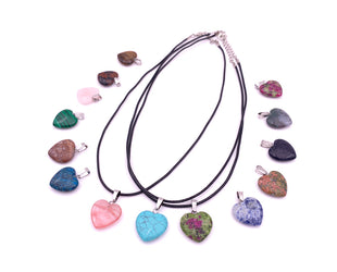 Mysterious Heart Stone Necklace