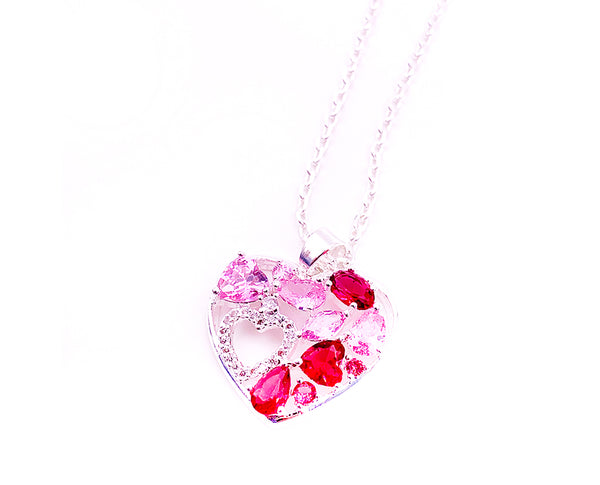 Heart-in-Heart Love Special Pendant