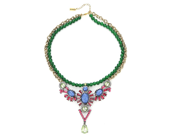 Tropical Island Statement Necklace