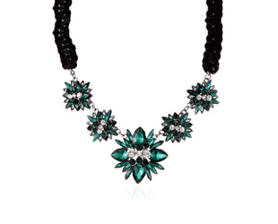 Emerald Shining Star Necklace