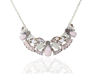 Pastel Medley Rhinestone Necklace
