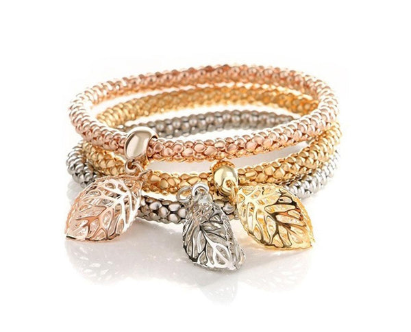 Fall Leaves Bracelet Charm Set