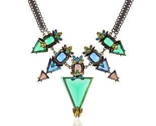 Geometric Mod Statement Necklace