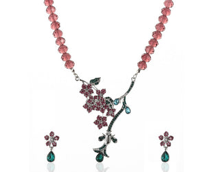 Blooming Vine Necklace Set