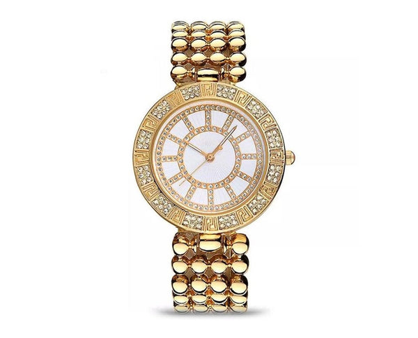 Novadab Crystal Dial Quartz Bracelet Watch
