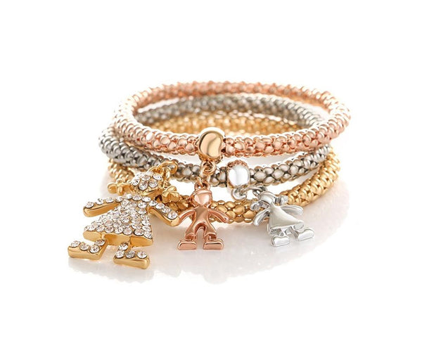 Playful Childhood Bracelet Charm Set