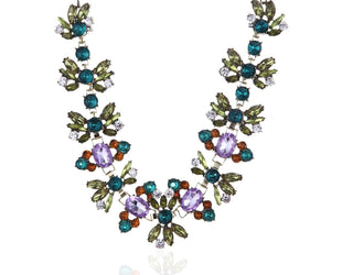 Exotic Colorful Statement Necklace