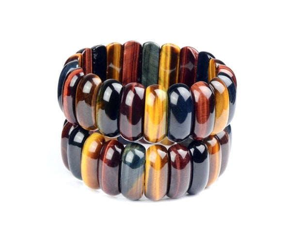 Multicolored Broad Bracelet