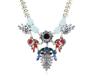 Blossom Queen Statement Necklace