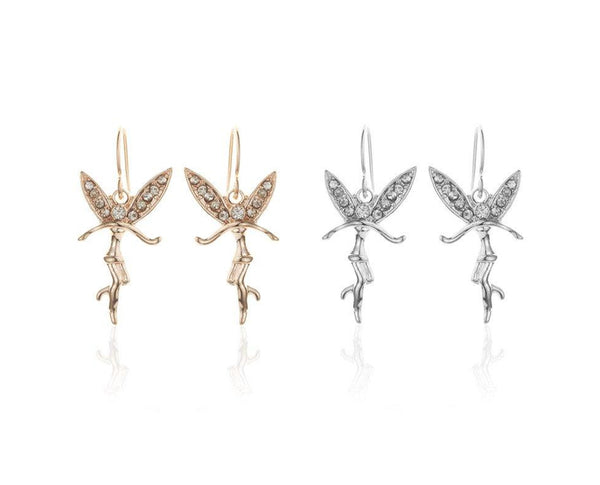 Austrian Crystals Angel Fairy Earrings