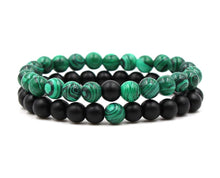 Gem Inspired Appealing Green Beaded Bracelet