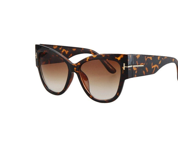 Butterfly Pattern Vintage Ladies Sunglasses