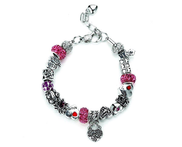 Mother's Love Charm Bracelet