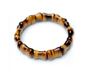 Tiger Eye Rectangles Bracelet