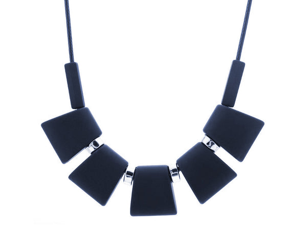 Trendy Geometrical Cube Neck-Piece