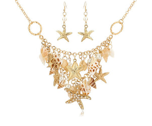 Regal Mermaid Necklace Set