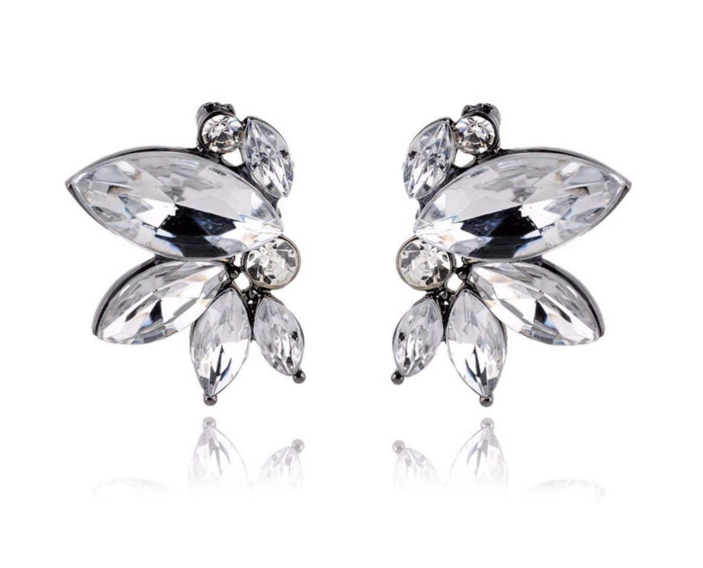 Dancing Crystal Stud Earrings