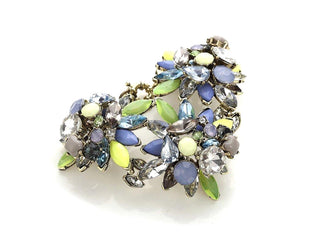 Multicolored Floral Pattern Bracelet