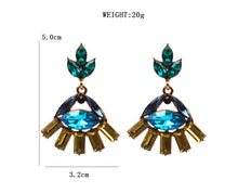 Designer Crystal Statement Earrings