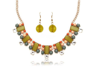 Wondrous Polychromatic Necklace Set Sales