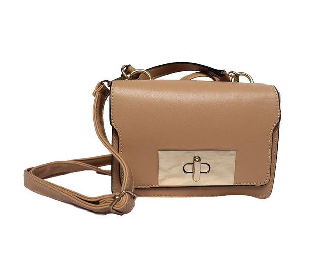Quiescent Flap Over Crossbody Handbag