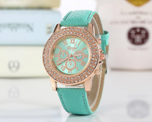 Crystal Studded Elite Watch