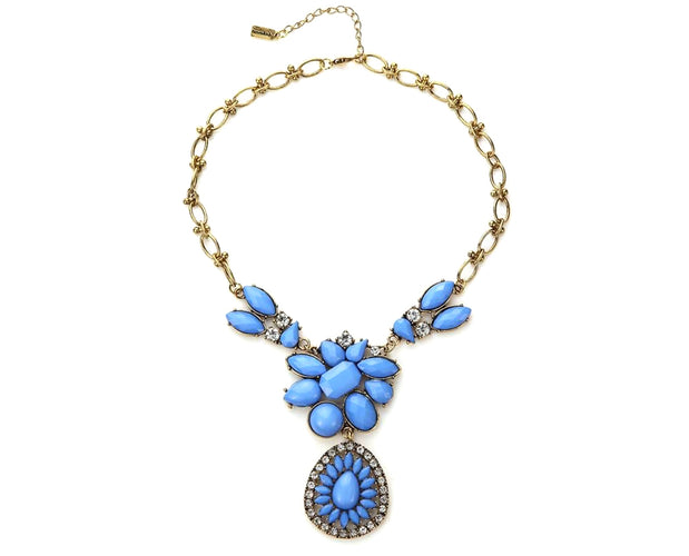 Aquatic Flower Power Necklace
