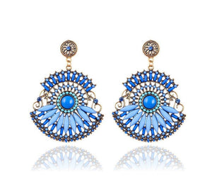 Bohemian Style Spectacular Drop Earrings