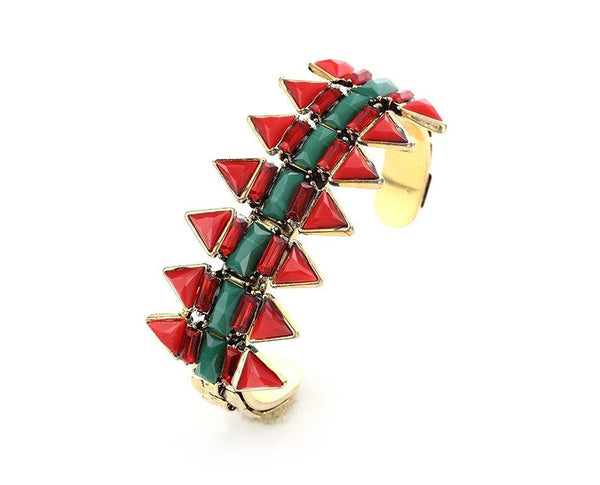 Tribal Inspired Geometric Bracelet