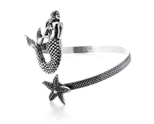 Mermaid and Starfish Bangle