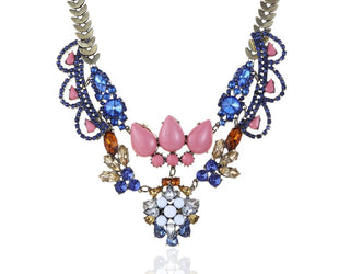 Queen of Crystal Statement Necklace