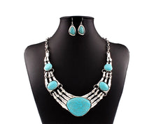 Southern Valley Deep Turquoise Necklace Set