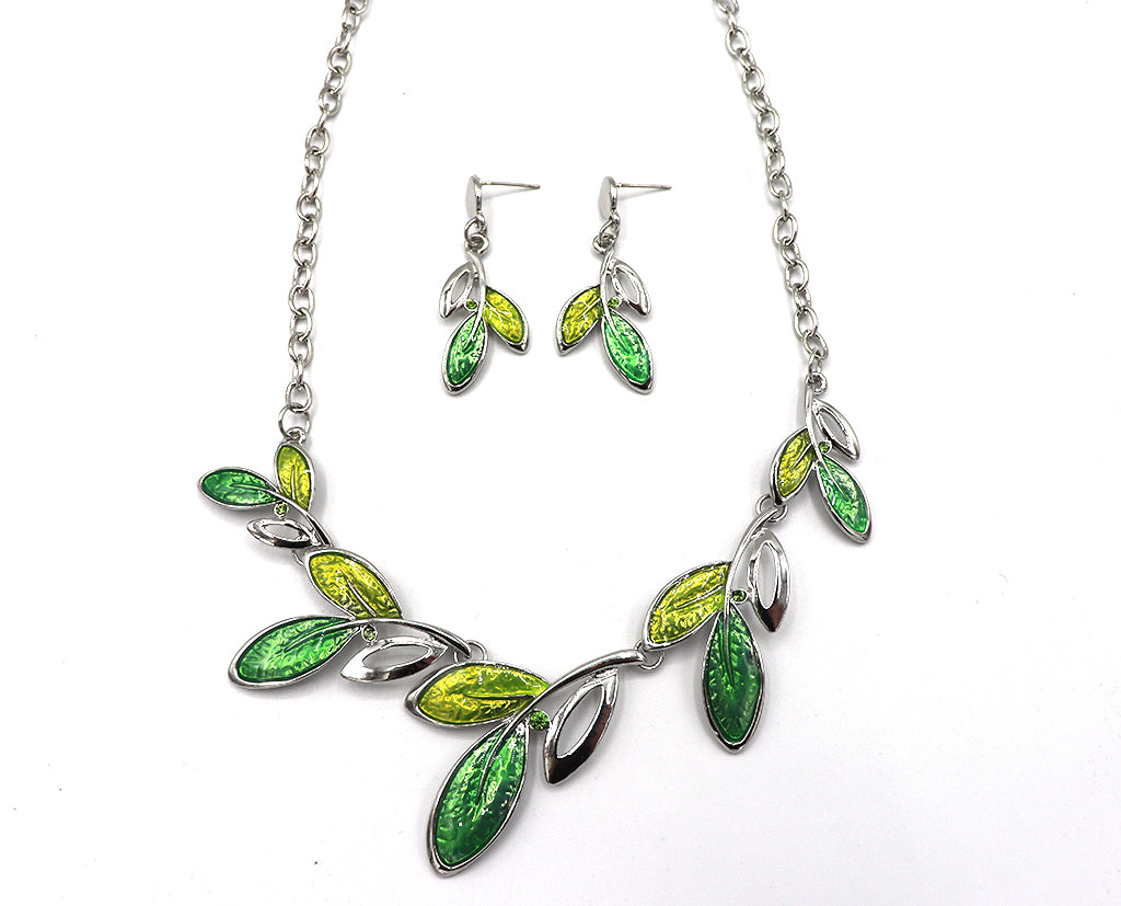 Leaves of Summer Necklace Set