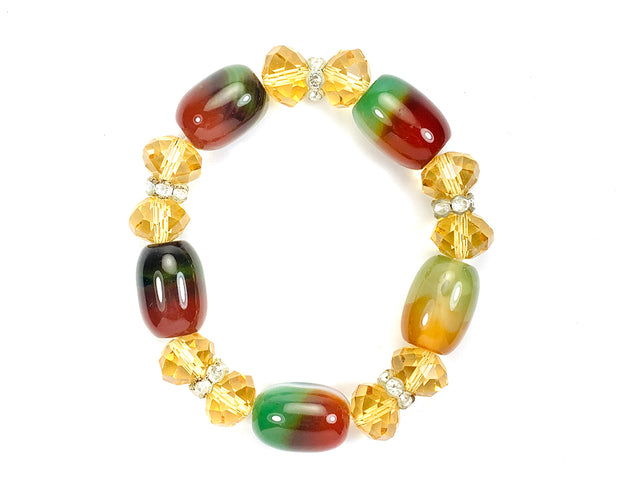 Cylindrical Beaded Bracelet