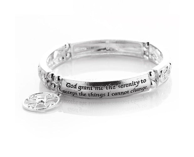 Serenity Prayer Engraved Bracelet Sales