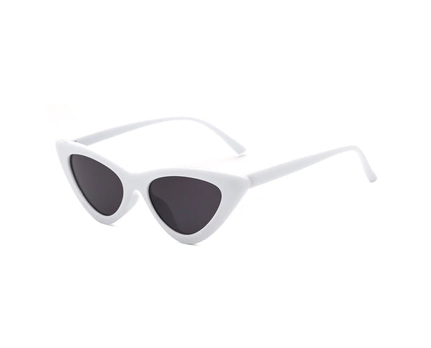 Retro Styled Vintage Browline Broad Sunglasses