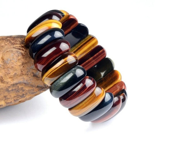 Multicolored Tiger Eye Bracelet Sales