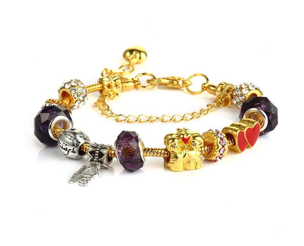 Together Forever Charms Bracelet