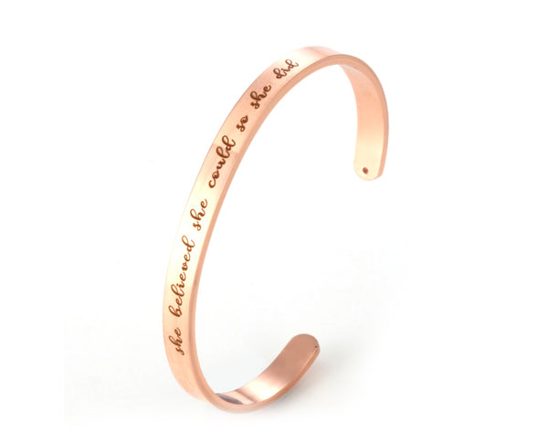 Special Message Bangle