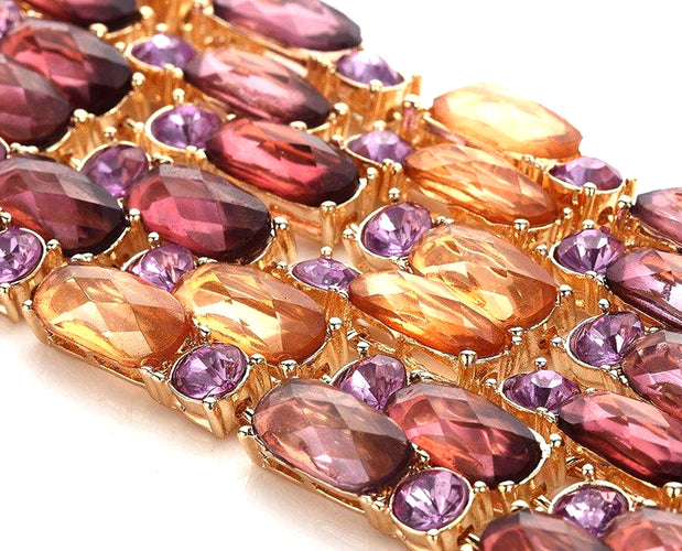 Magnificent Sparkling Color Bracelet