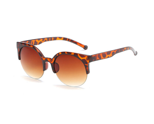 Clubmaster Classic Browline Sunglasses with Thick Top Frame