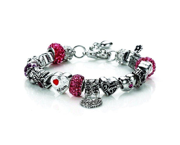 Mother's Love Charms Bracelet