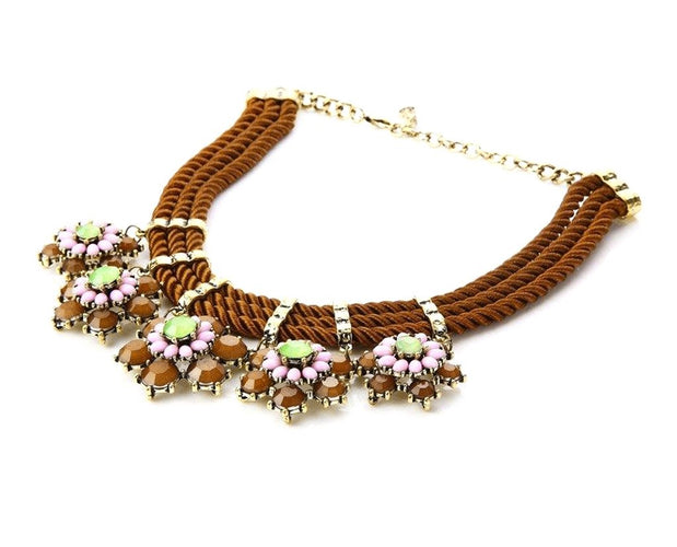 Exclusive Floral Hanging Neckpiece